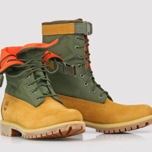 Timberland 6' Gaiter Boot Big Kids' Shoes Wheat